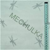 Vážky šedé - béžová látka - dekorační metráž - bavlna empty 8517ff5c26e