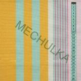 Pruhy růžovo-žluto-mentolové - pruhovaná látka - dekorační metráž - bavlna  empty 5dfe338a0cb