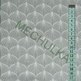 Cibule   cibulky bílé - šedá látka - dekorační metráž - bavlna empty dcf0d19f04d