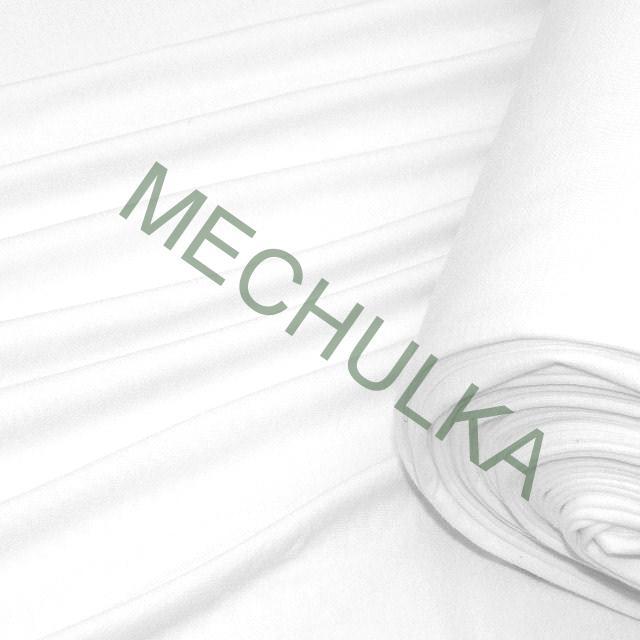eabb51aea6ab Bavlněný úplet elastický 8% - jednolícní látka - metráž - bílý