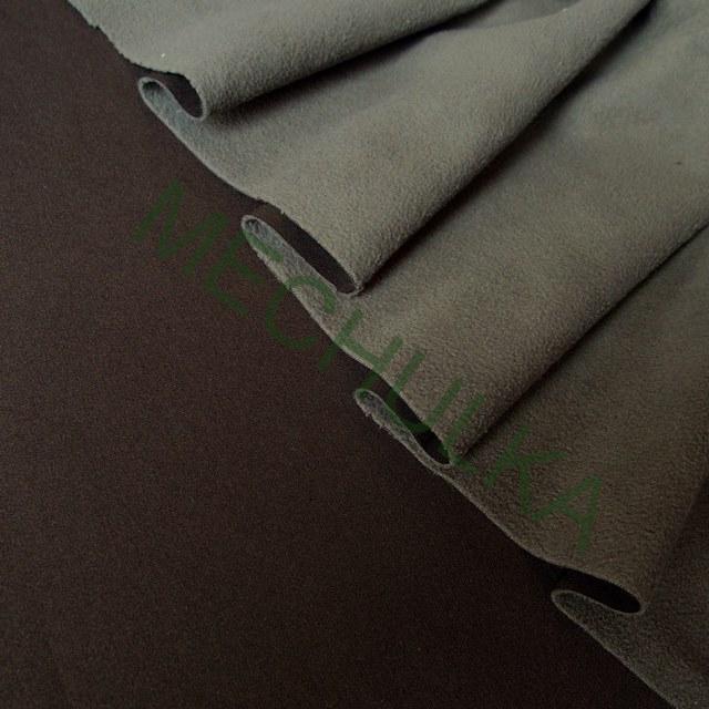 4f8db8192ec Softshell - funkční materiál   látka - metráž - tmavě hnědý