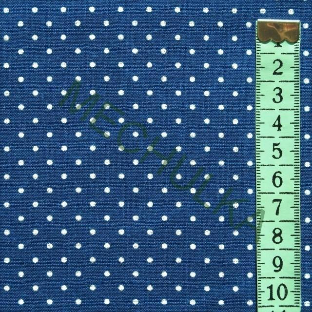 778348f3c2a9 Bavlněné plátno s mini puntíky 2 mm