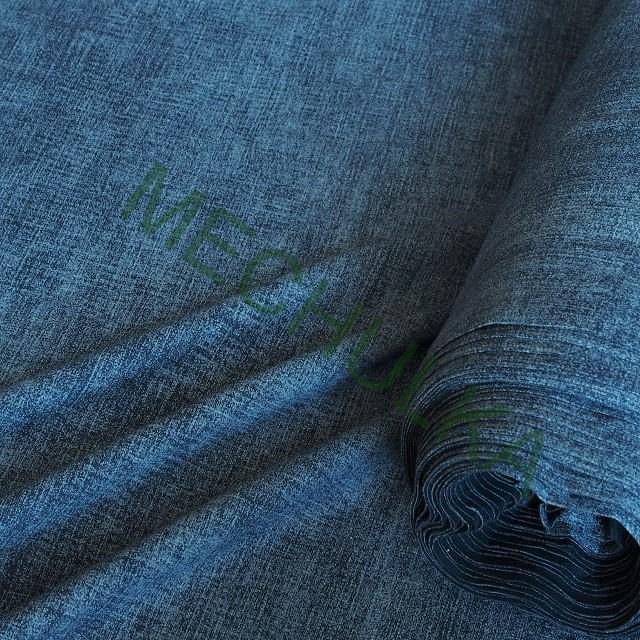 b9d570244456 Jeans tmavě modrý elastická tričkovina jednolíc