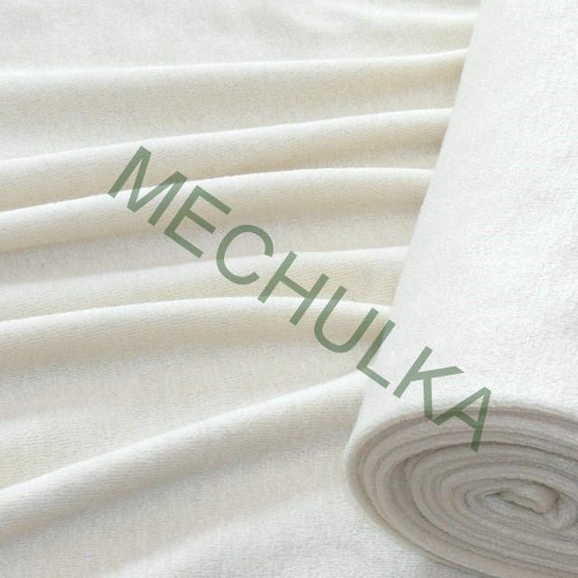 67b35b96832e Přírodní bílé bambusové jednostranné froté