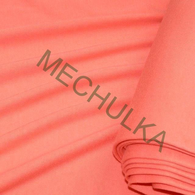 38433ac51cbb Bavlněný úplet - oboulícní látka - metráž - meruňkový