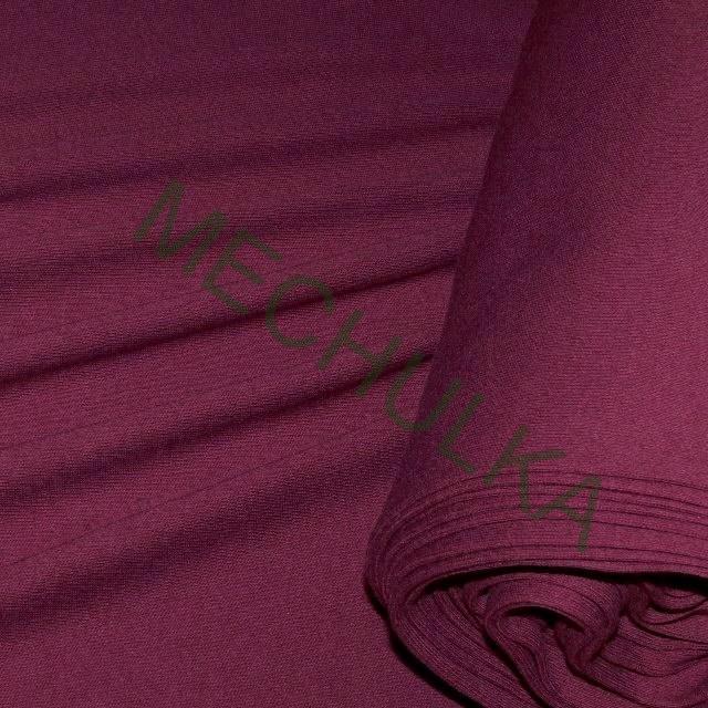 Bavlněný úplet - oboulícní látka - metráž - tmavě vínový e34d2f6ad42